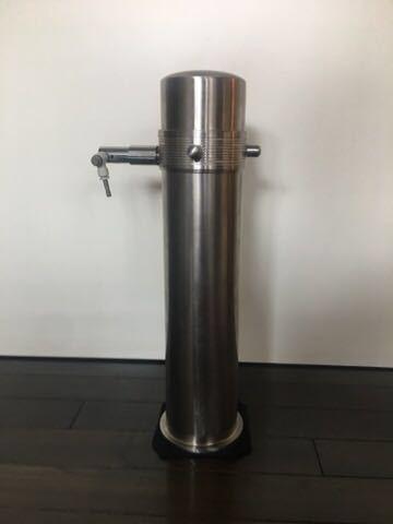 ADA タワー 旧ロゴ CO2 ボンベ ミドボン レギュレータ WPW CO2 アドバンス おまけ チューブ 等 付き レンチ無し 次回要耐圧検査