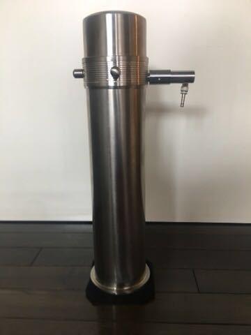 ADA タワー 旧ロゴ CO2 ボンベ ミドボン レギュレータ WPW CO2 アドバンス おまけ チューブ 等 付き レンチ無し 次回要耐圧検査_画像2