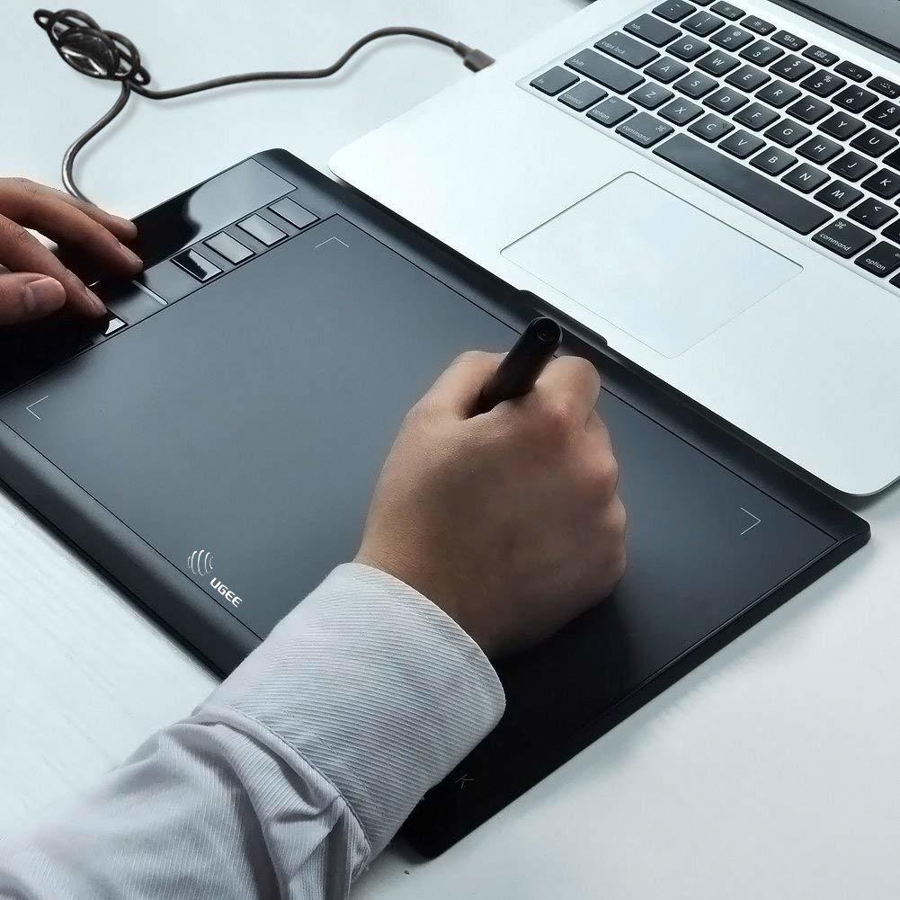 ★*新品*★ ペンタブ ペンタブレット ペン 入力 8192 筆圧 エクスプレスキー 8つ 極薄 タッチ マンガ イラスト 制作 デザイン パソコン USB_画像7