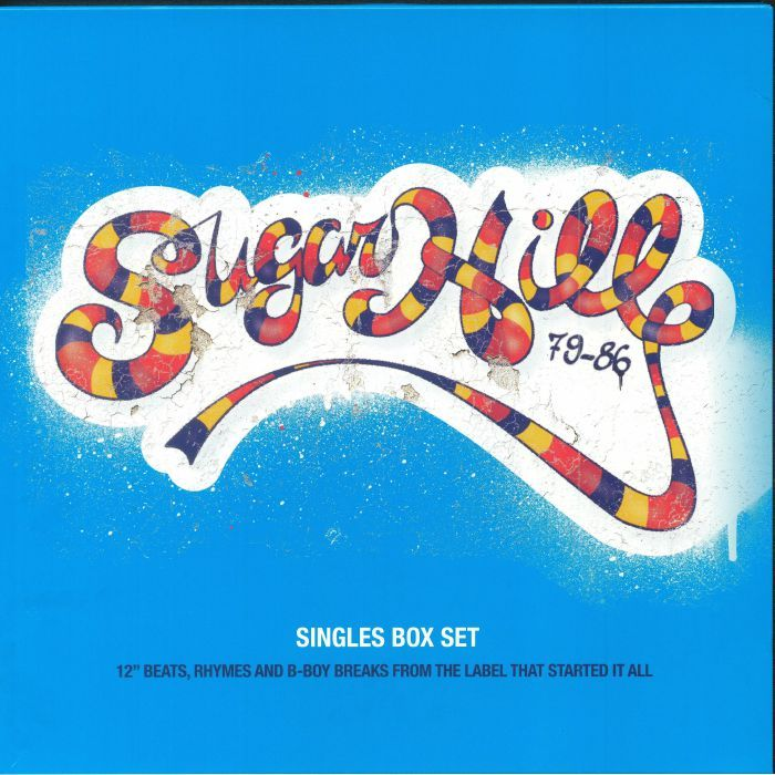 The Sugarhill Gang他 The Sugarhill Singles Box Set 79-86 限定四枚組12インチ・シングル・アナログ・レコード・ボックス
