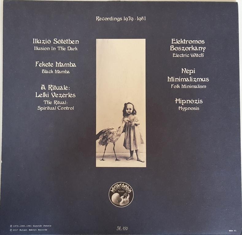 Gusztav Fekete - Introspection 150枚限定クリアー・カラー・アナログ・レコード