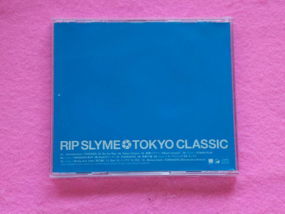 CD/RIP SLYME/TOKYO CLASSIC/リップスライム/トウキョウクラシック_画像3