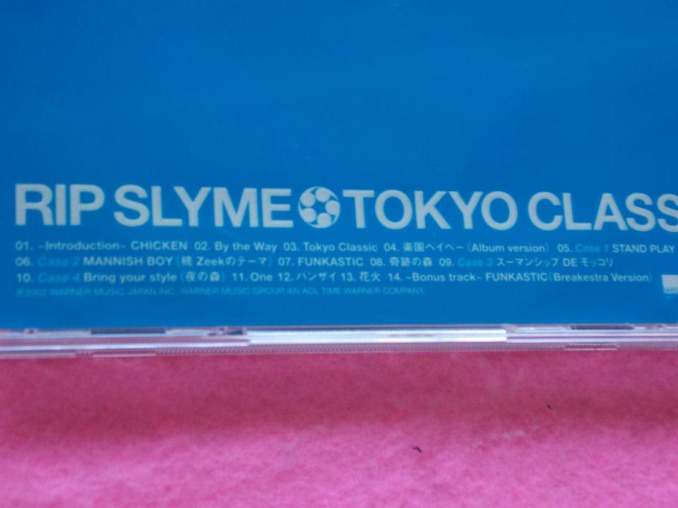 CD/RIP SLYME/TOKYO CLASSIC/リップスライム/トウキョウクラシック_画像4