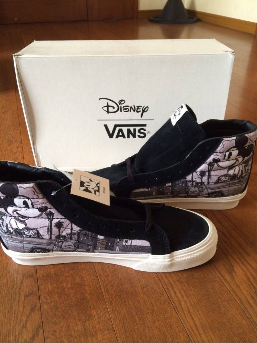 bf0aa715ab Vans Vault Disney mickey 90th Sk8 Hi lx Mr. Cartoon 10.5 special order  limitation Disney Mickey 90 anniversary supreme wtaps Beams