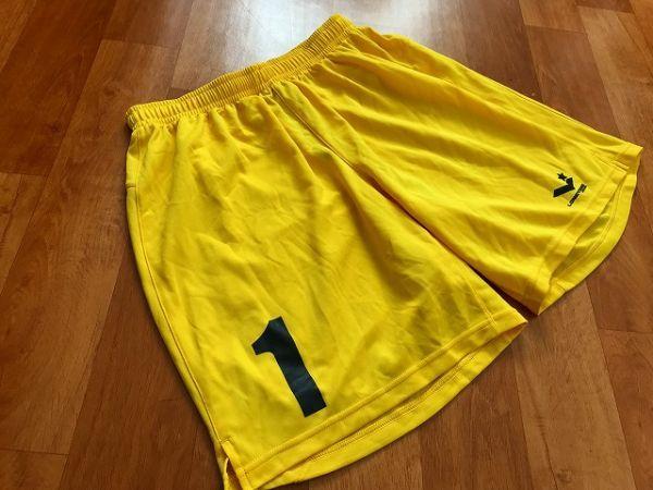 美品 ロンヨン Long yong japan ショートパンツ サッカー フットサル O_画像1