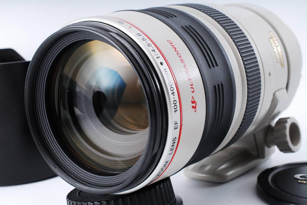 ★極上品★Canon キヤノン EF 100-400mm F4.5-5.6 L IS 人気の高級望遠レンズ★369