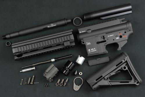 ORGA exhibition ]HK416D MWS gas bro for conversion kit