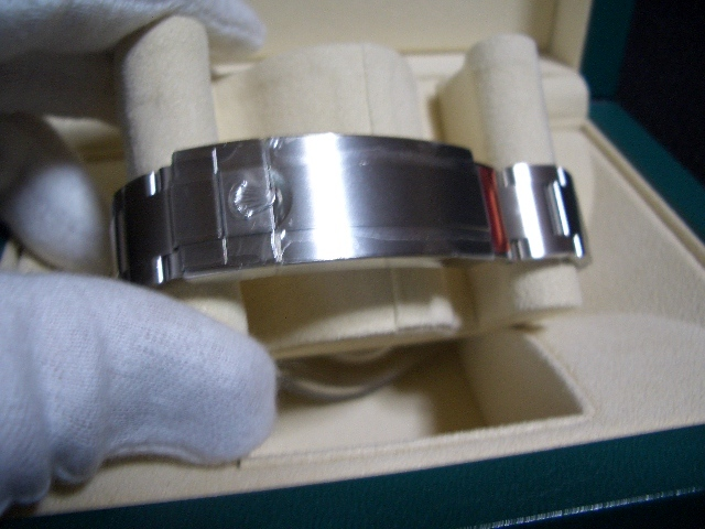 デッドストック 新品 未使用品 国内正規品 保護シール 鏡面ブレス ロレックス シードゥエラー 4000 Ref: 116600 付属品完備_画像5
