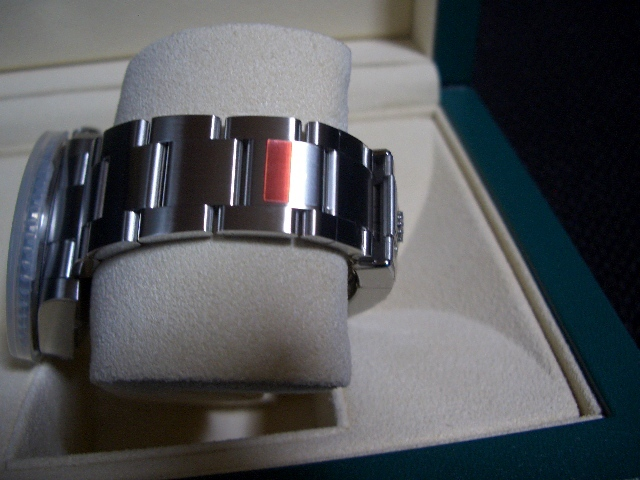 デッドストック 新品 未使用品 国内正規品 保護シール 鏡面ブレス ロレックス シードゥエラー 4000 Ref: 116600 付属品完備_画像6