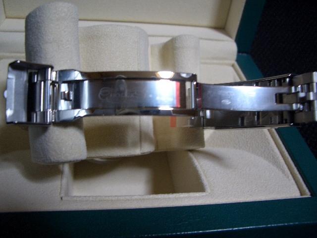 デッドストック 新品 未使用品 国内正規品 保護シール 鏡面ブレス ロレックス シードゥエラー 4000 Ref: 116600 付属品完備_画像7