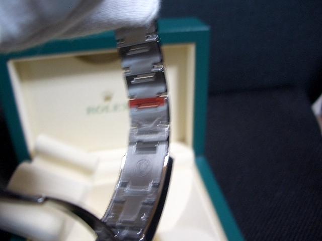 デッドストック 新品 未使用品 国内正規品 保護シール 鏡面ブレス ロレックス シードゥエラー 4000 Ref: 116600 付属品完備_画像8