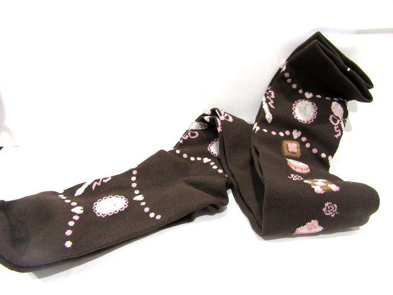 新品Innoent World シュガーケーキオーバーニーソックス 靴下 JSK イノセントワールド