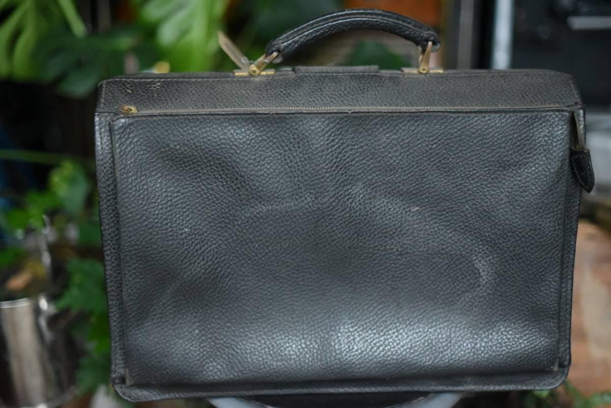 101342 ヴィンテージ バッグ ブリーフケース トランクケース 革鞄 カバン アンティーク ビンテージ 英国 スーツケース_画像4
