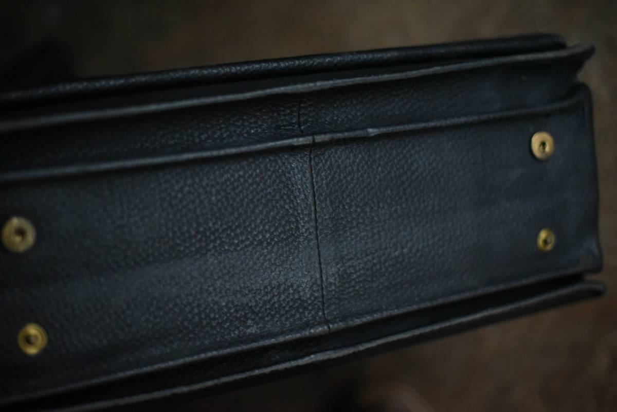 101342 ヴィンテージ バッグ ブリーフケース トランクケース 革鞄 カバン アンティーク ビンテージ 英国 スーツケース_画像9
