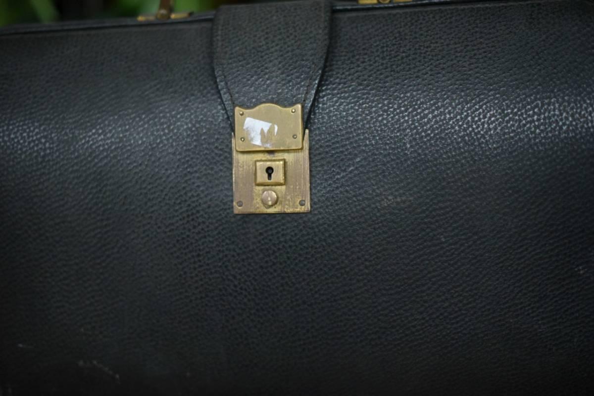 101342 ヴィンテージ バッグ ブリーフケース トランクケース 革鞄 カバン アンティーク ビンテージ 英国 スーツケース_画像2