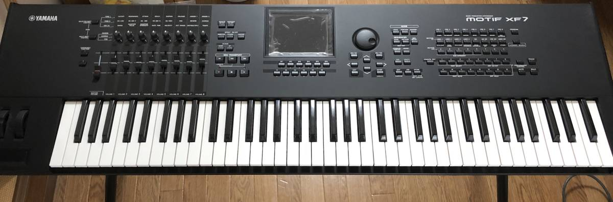 YAMAHA MOTIF XF7: Real Yahoo auction salling
