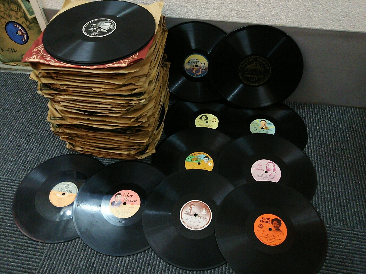 *** gramophone for SP record SP record 120 sheets!!! ***