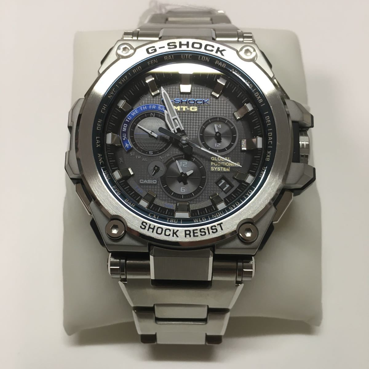 outlet store 4ddc5 33c05 Casio GPS solar radio wave wristwatch G-SHOCK MTG-G1000D ...