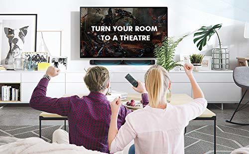 サウンドバー スピーカー ホームシアターシステム ワイヤレス フロントサラウンドシステム Bluetooth 高音質 重低音30W テレビ PC USB _画像7