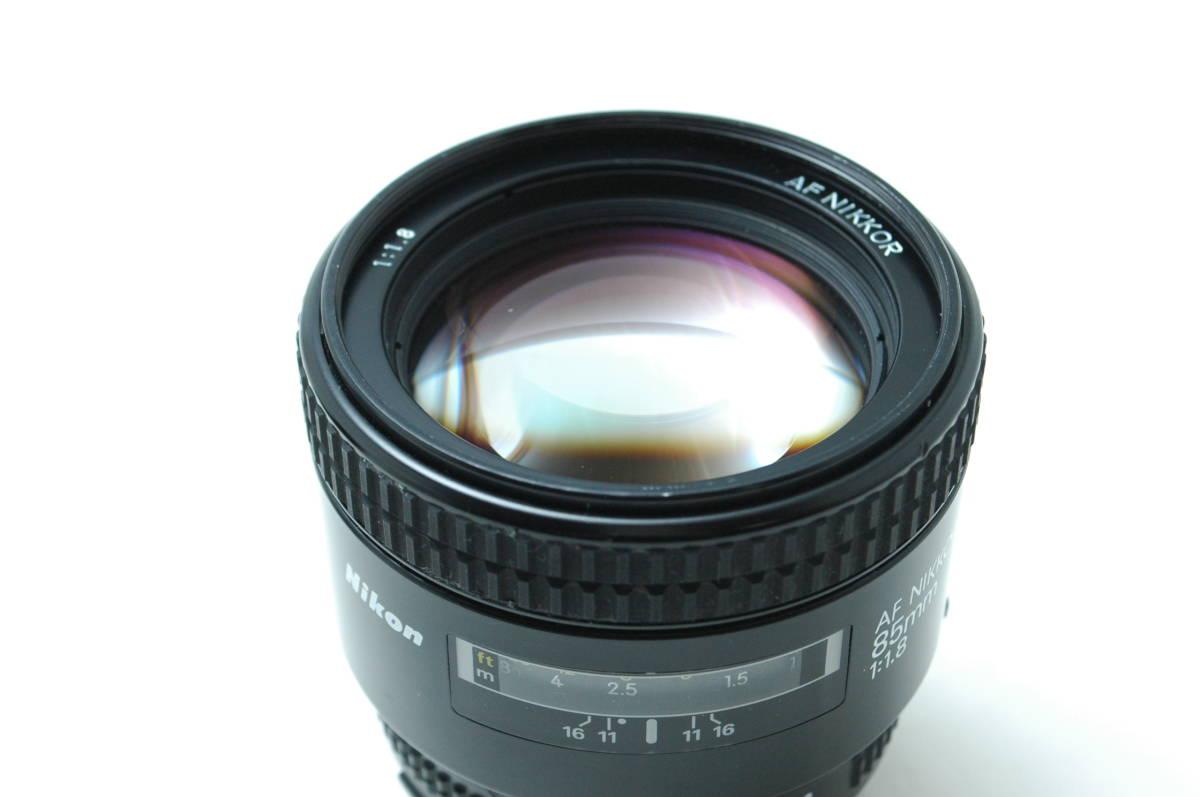 #243 ★ワンオーナー美品★ ニコン Nikon AF NIKKOR 85mm 1.8 D 単焦点 /動作・光学絶好調/ 返品可