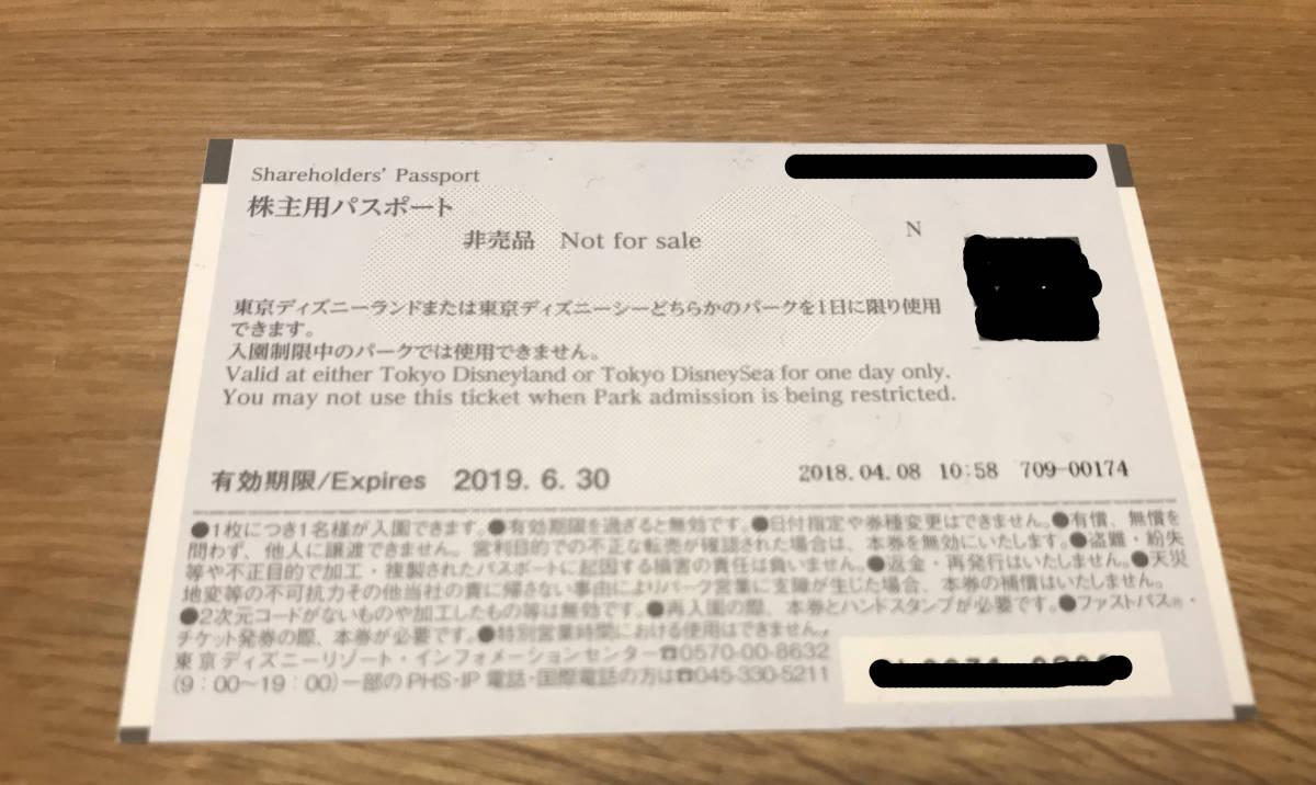 【東京ディズニーリゾート】株主優待券パスポートチケット2枚組_画像3