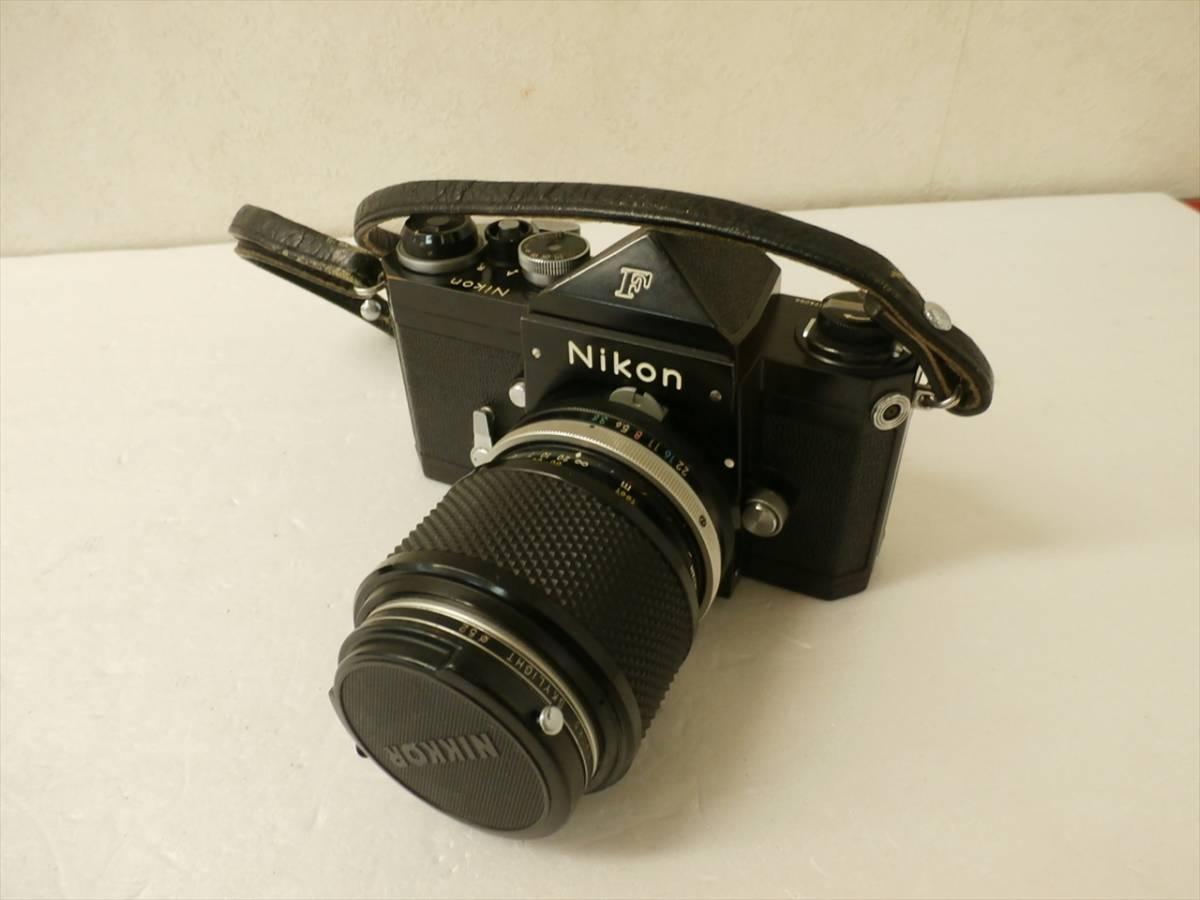 1円~Nikon F エフ 一眼レフフィルムカメラ レンズ 1:3.5 f43~86mm ニコン