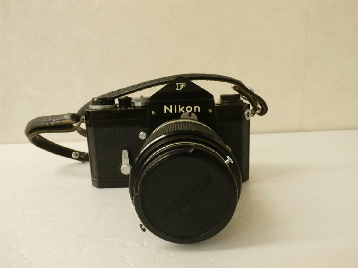 1円~Nikon F エフ 一眼レフフィルムカメラ レンズ 1:3.5 f43~86mm ニコン_画像2