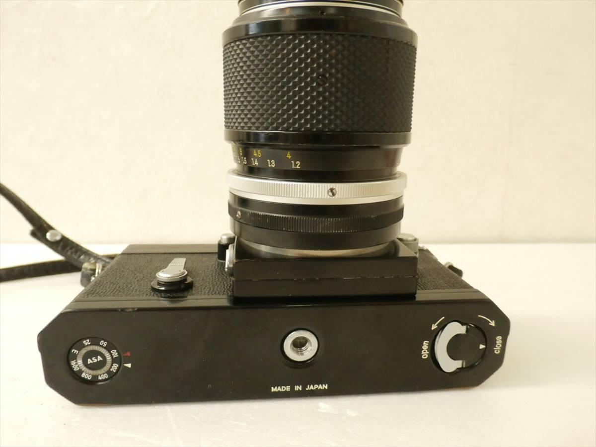 1円~Nikon F エフ 一眼レフフィルムカメラ レンズ 1:3.5 f43~86mm ニコン_画像8