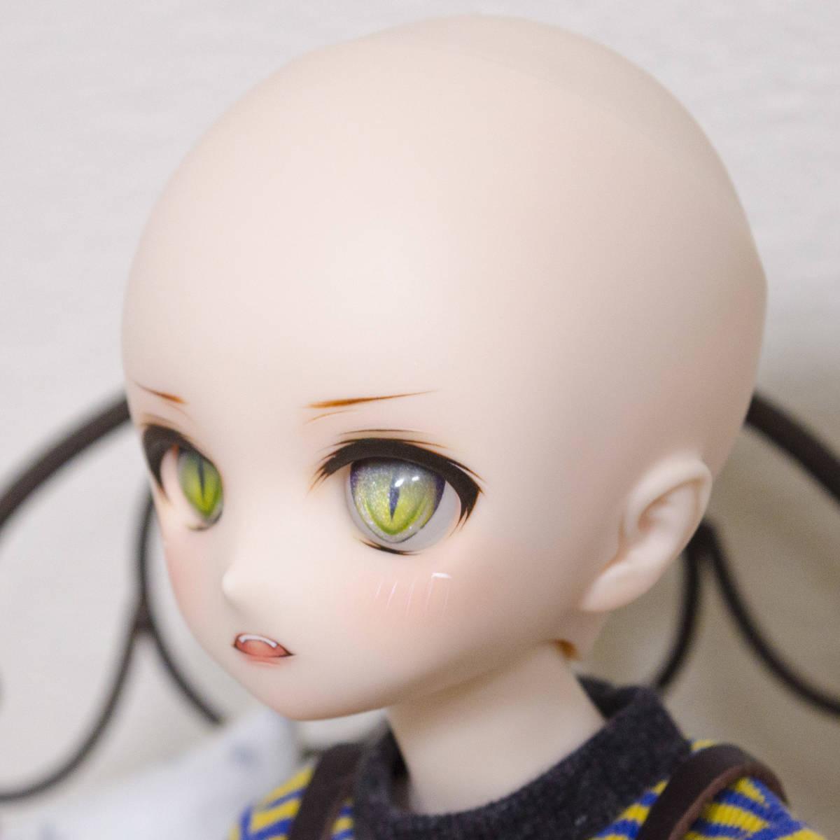 ゜FloralGarden ゜ DDH-01 セミホワイト肌 カスタムヘッド +アイ+おまけ_画像8