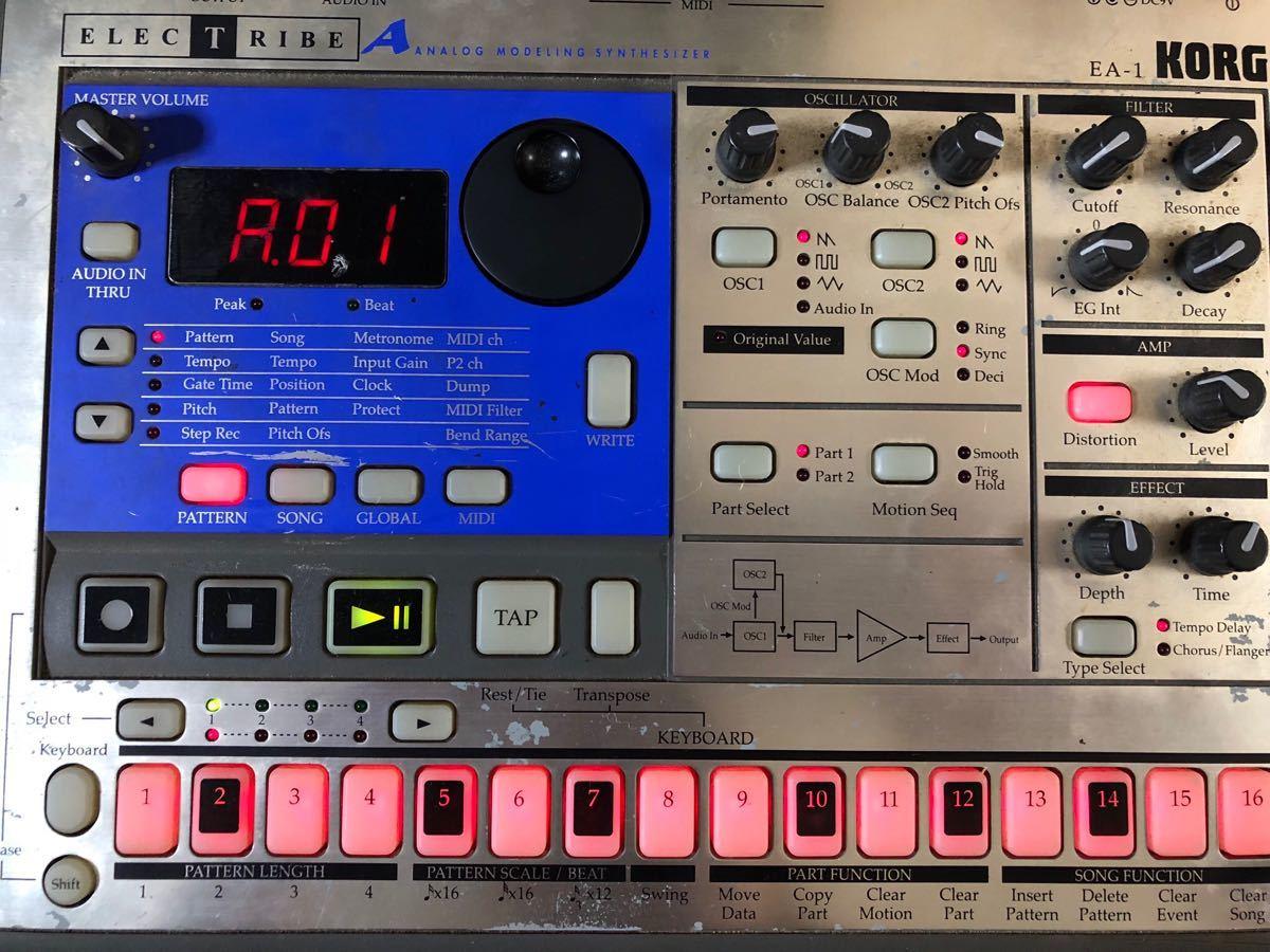 KORG ELECTRIBE EA-1 analogue mote ring synthesizer *si- ticket sa