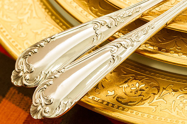 ロココ 堅牢 ティースプーンx2 銀無垢 Henri Soufflot【884y33】 フランス・アンティーク・カトラリー_画像6