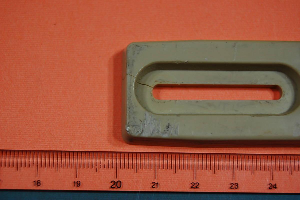 N_NEC PC8801Mk2 縦置き固定用 可動式足 1台セット ヒビ有り 現状渡し ジャンク扱いにて_画像3