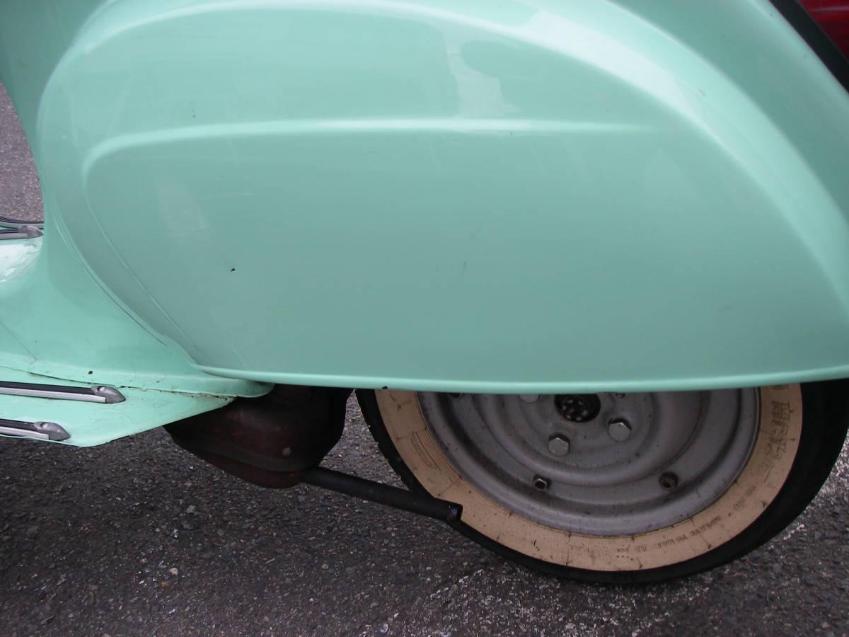 ベスパ50S!実働車!シートに切れ有りますが綺麗な車庫保管車両です。_画像3