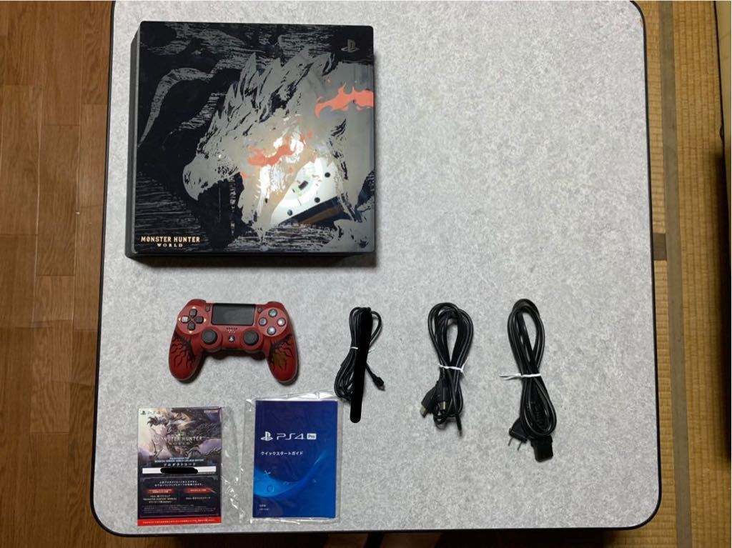 SONY PS4 Pro モンスターハンター ワールド・リオレウス・エデ...