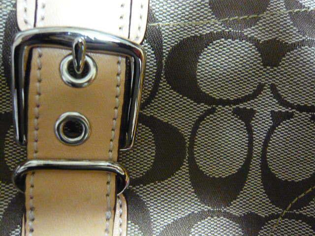 【新品】正規店購入COACHコーチ シグネチャーブラウン6362 保存袋つき ミニバッグポーチショルダーバッグ_画像7