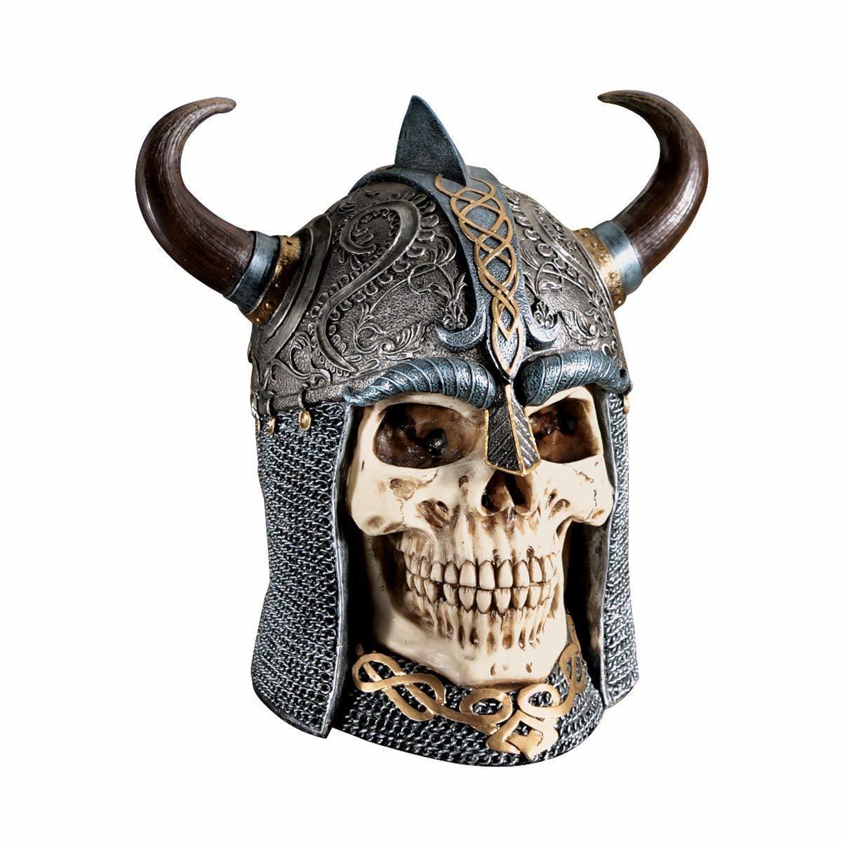 ディーエメ:ケルトの頭蓋骨の戦士彫像 彫刻/ Design Toscano Daimer: The Celtic Skull Warrior Sculpture(輸入品_画像2