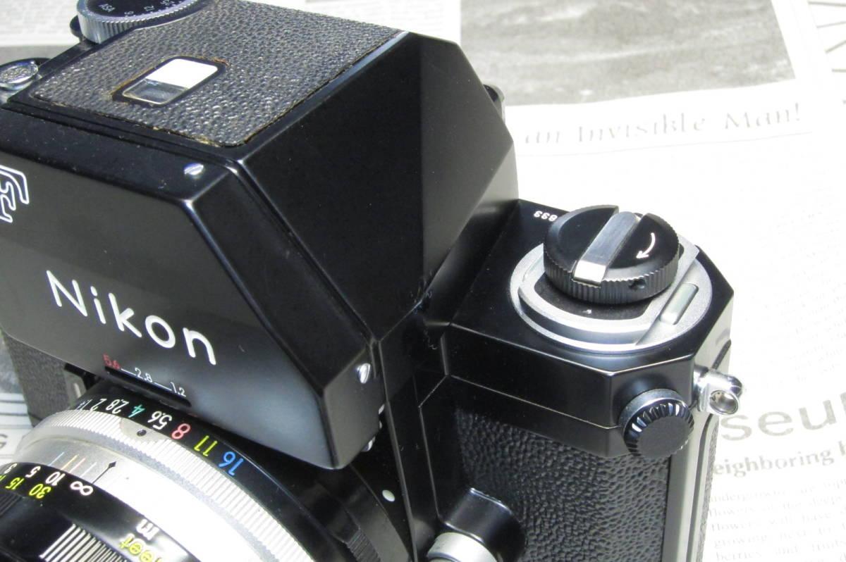 美品 後期型 Nikon F フォトミックFTN ブラック 50mm 1:1.4 元箱付_画像3