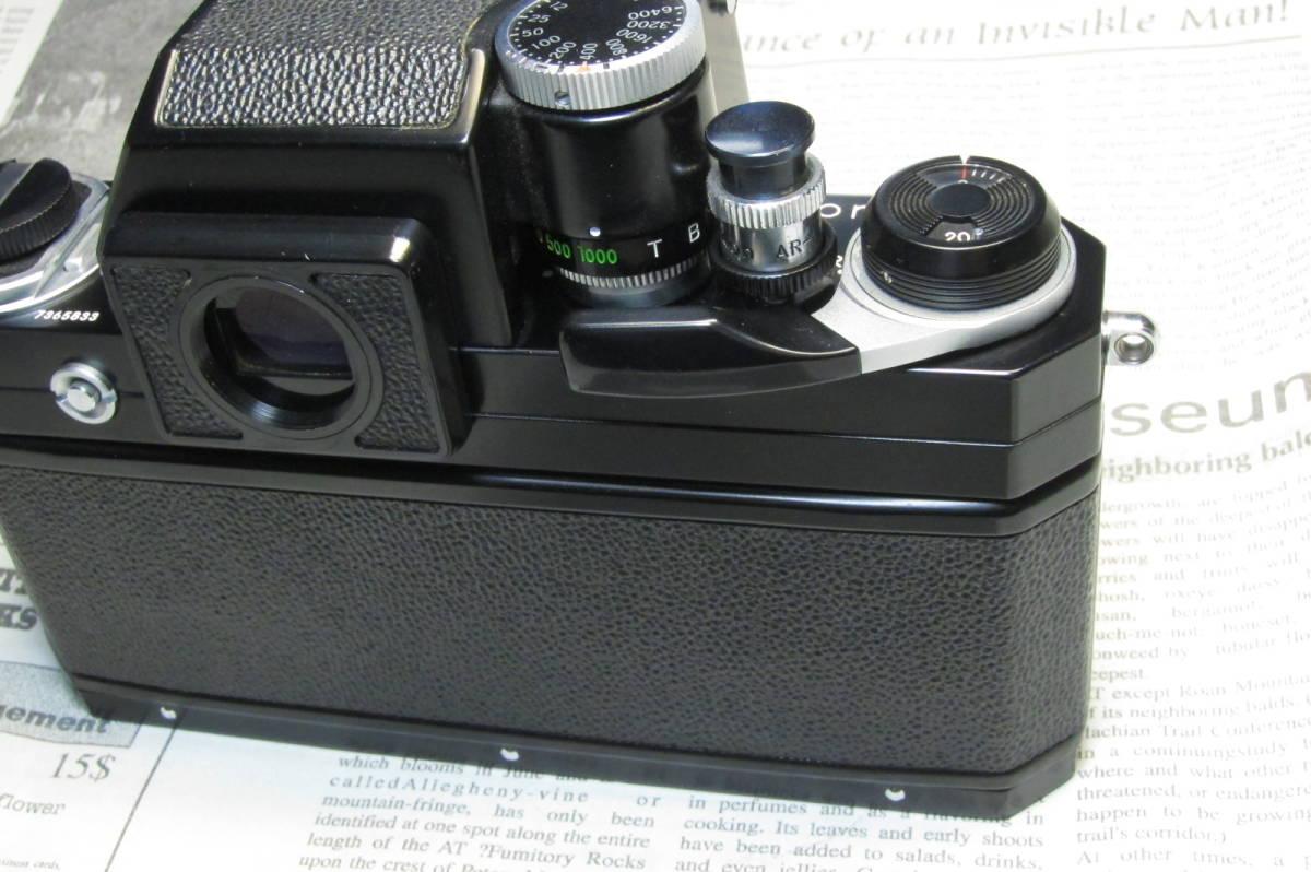 美品 後期型 Nikon F フォトミックFTN ブラック 50mm 1:1.4 元箱付_画像4