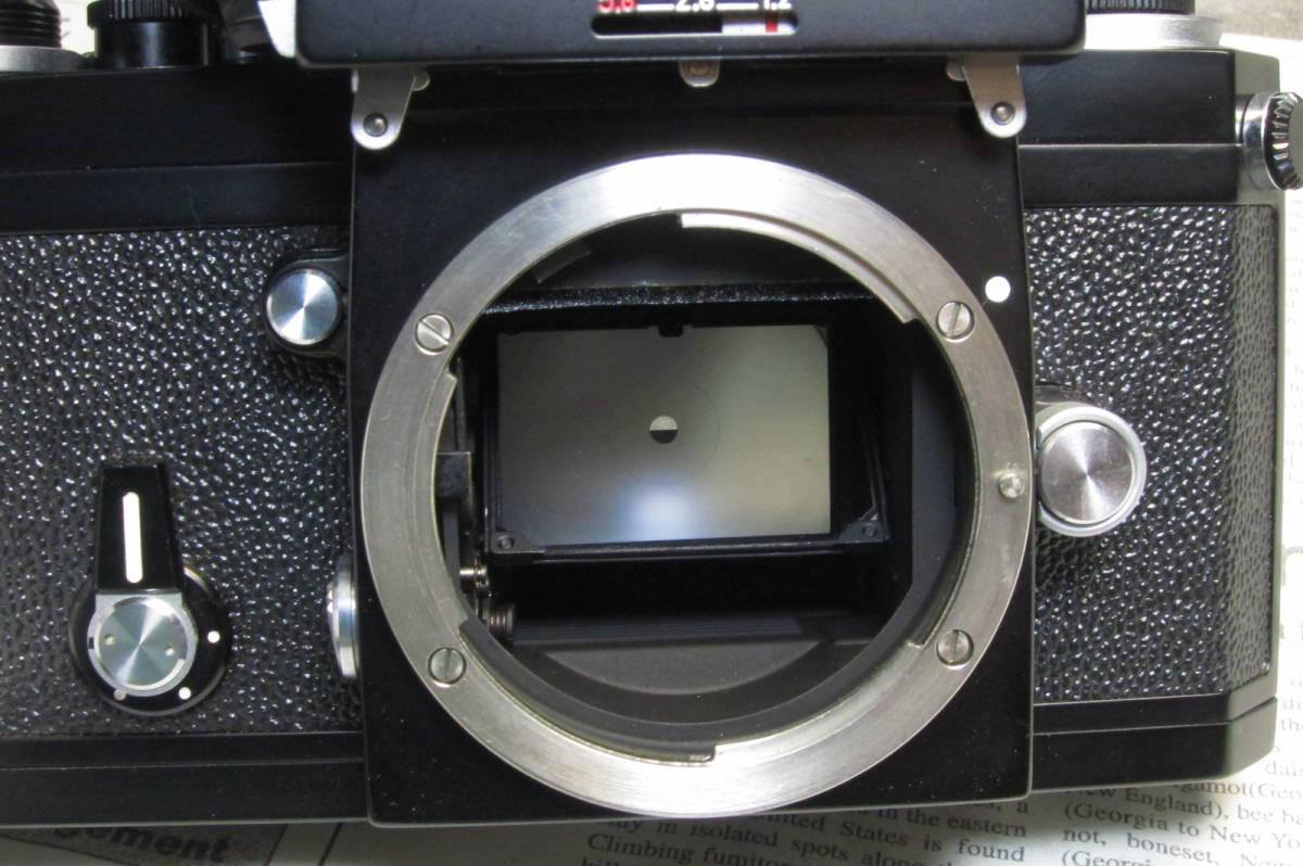美品 後期型 Nikon F フォトミックFTN ブラック 50mm 1:1.4 元箱付_画像7