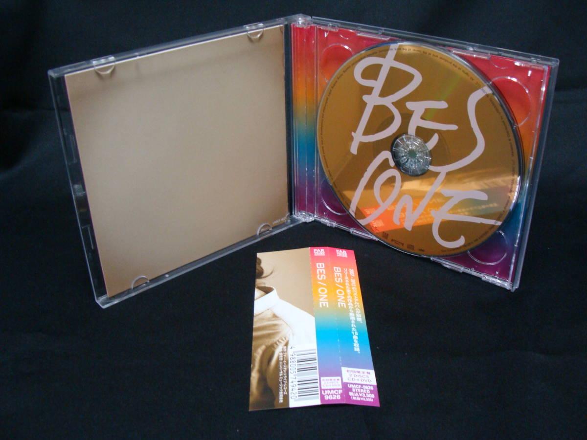 【中古CD+DVD】 BES ONE 【直筆サイン入り 初回限定盤】_画像3