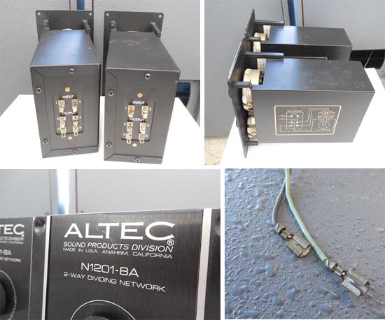 ALTEC LANSING/アルテック◇A7 エンクロージャー スピーカー ホーン ユニット 902-8A 511B HORN N1201-8A 札幌市内限定_画像7