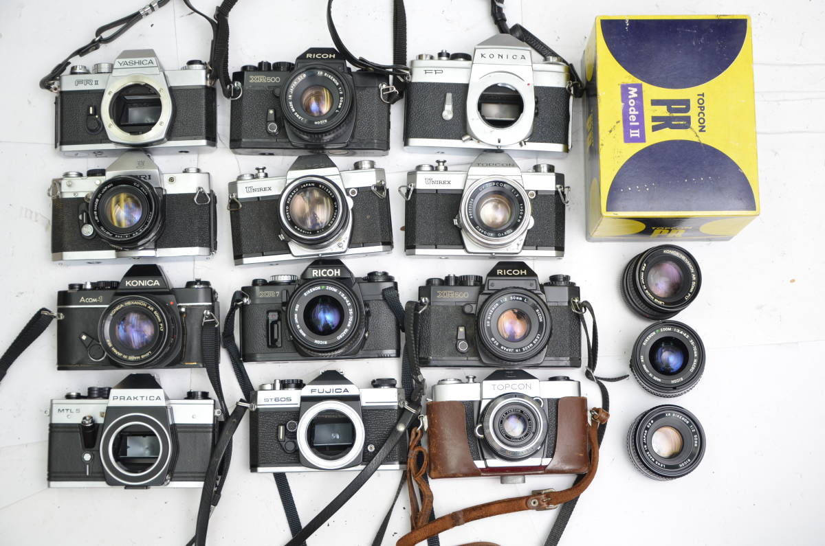 S24 トプコン リコー コニカ フジカ プラチカ 等 一眼レフカメラ 他 まとめて 大量 セット