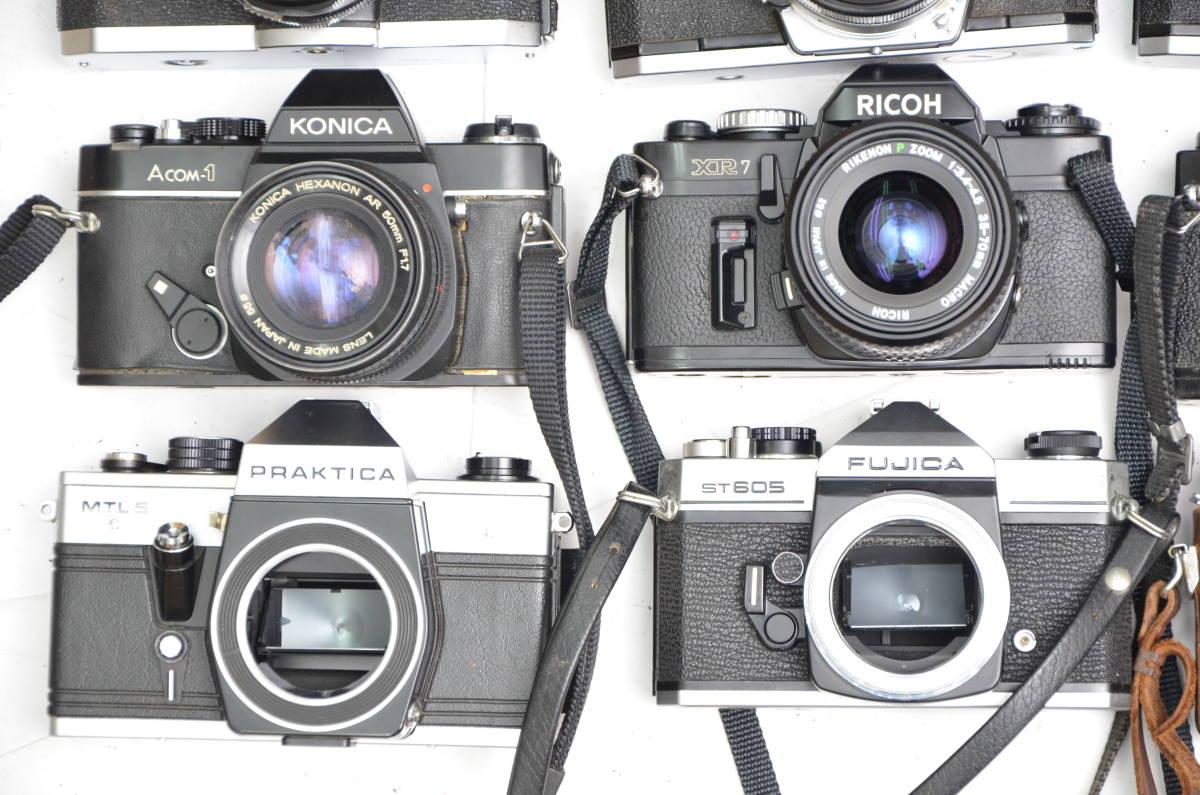 S24 トプコン リコー コニカ フジカ プラチカ 等 一眼レフカメラ 他 まとめて 大量 セット_画像3