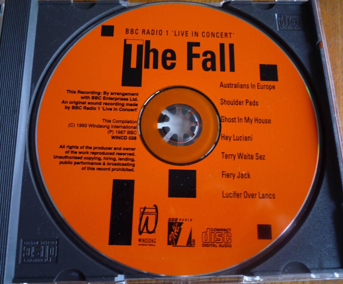 ■【美品CD】 THE FALL - BBC RADIO 1 LIVE IN CONCERT