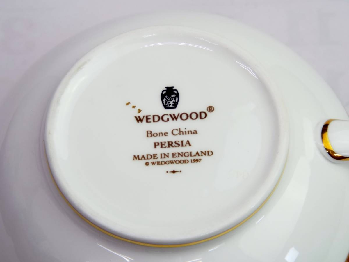Wedgwood ウェッジウッド ペルシア クリーマー_画像7