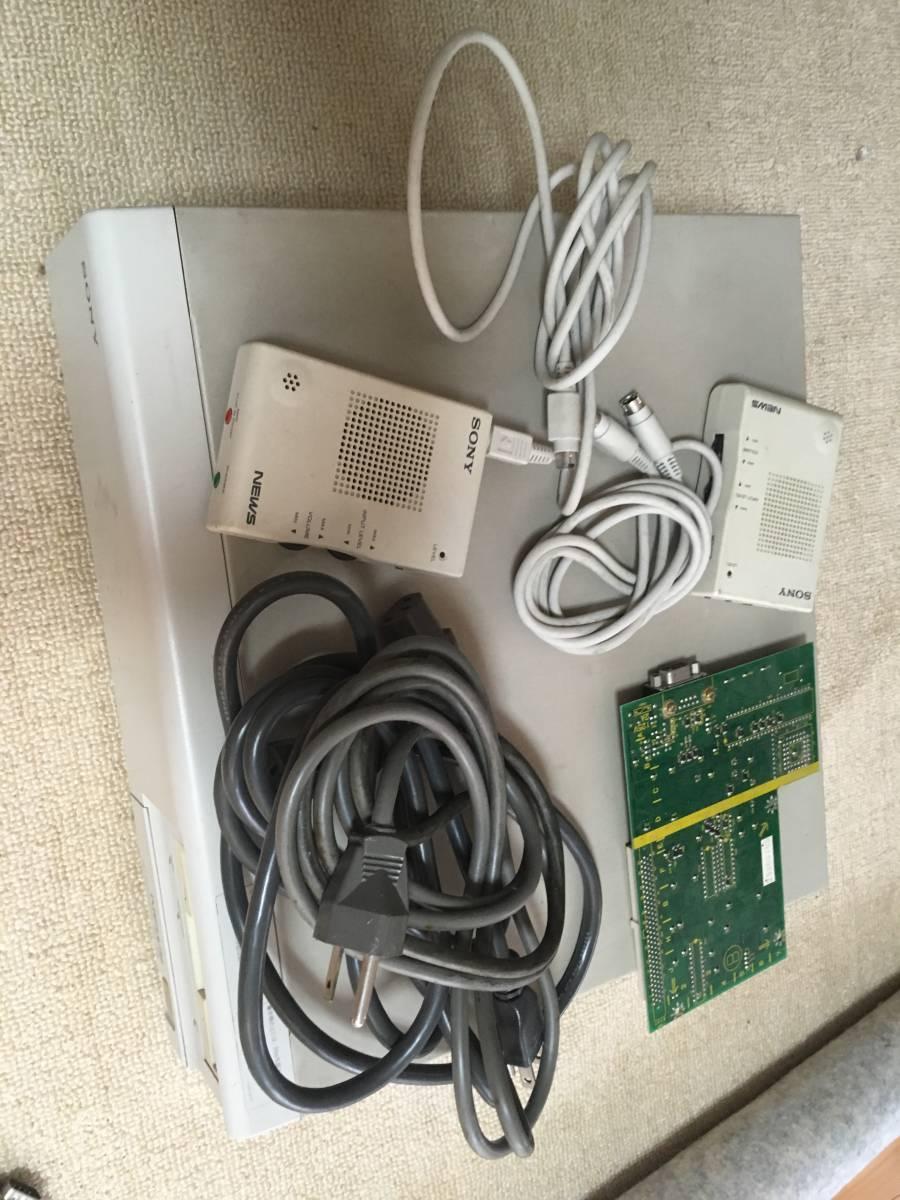SONY NEWS-3470D(2台) + NWP-514(ディスプレイ) _画像6