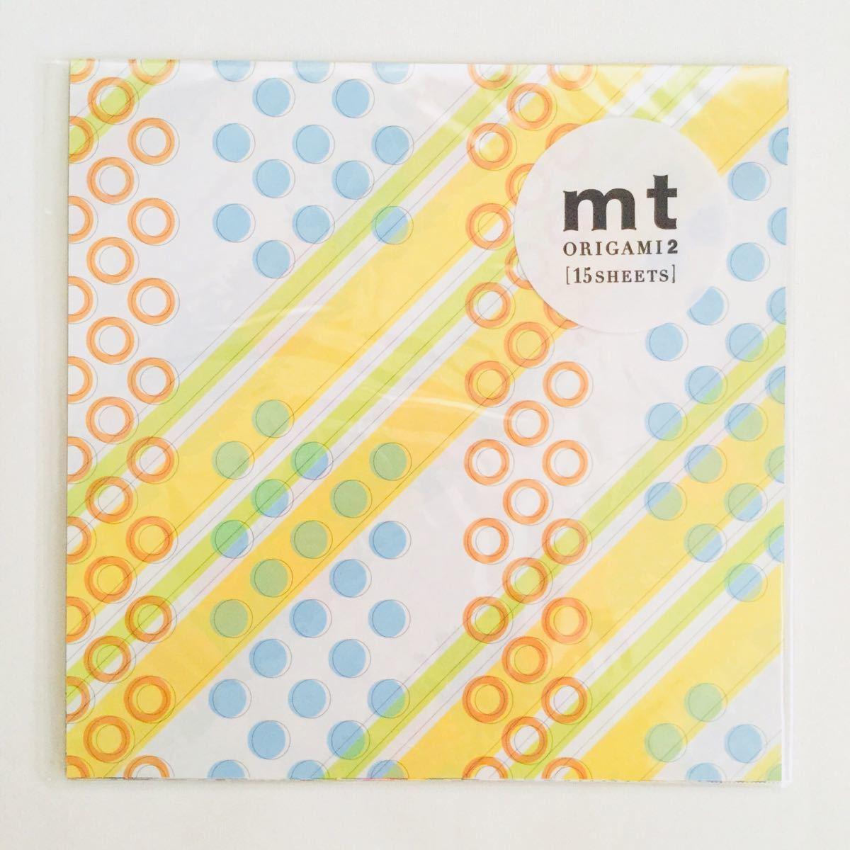 新品*mt factory tour 6 ファクトリーツアー 工場見学*ノベルティ 折り紙 origami*非売品 検索:カモ井 マスキングテープB_画像1