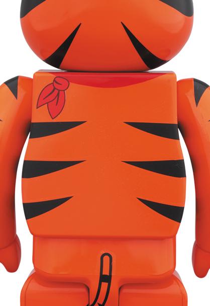 新品 2019 BE@RBRICK TONY THE TIGER 1000% MEDICOM TOY ベアブリック kaws カウズ Kellogg's ケロッグ トニー・ザ・タイガー_画像2