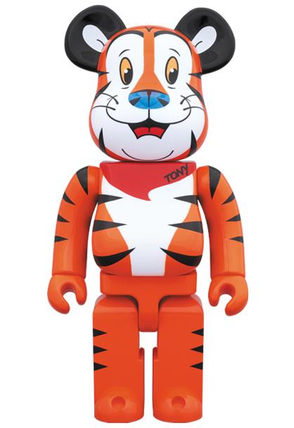 新品 2019 BE@RBRICK TONY THE TIGER 1000% MEDICOM TOY ベアブリック kaws カウズ Kellogg's ケロッグ トニー・ザ・タイガー_画像1