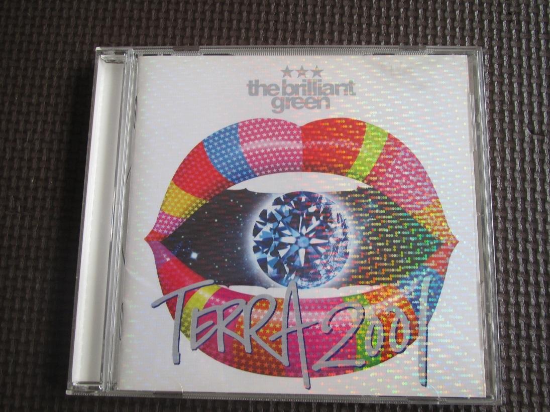 the brilliant green★TERRA 2001★CD★中古★送198_画像1